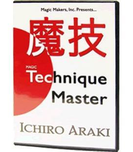 DVD TECHNIQUE MASTER/ICHIRO ARAKI