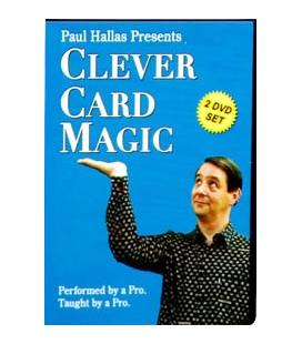 DVD CLEVER CARD MAGIC/PAUL HALLAS/2 DVD