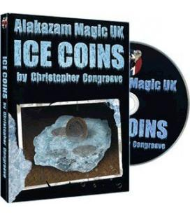 DVD ICE COINS/ALAKAZAN MAGIC UK&CHRISTOPHER CONGREAVE