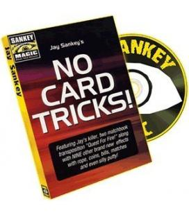 DVD NO CARD TRICKS/JAY SANKEY