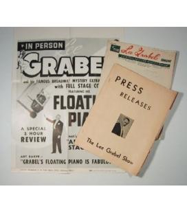 Floating Piano Poster - Lee Grabel /MAGICANTIC