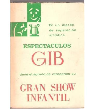 CATALOGO DE ARTISTAS/ESPECTACULOS BRUGUERA GIB/MAGICANTIC
