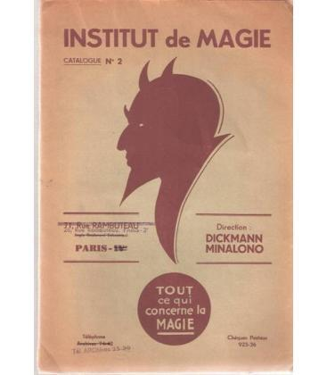 INSTITUT DE MAGIE CATALOGUE Nº 2/MAGICANTIC