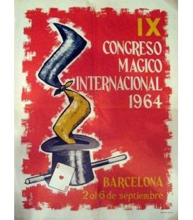 CONGRESO DE BARCELONA 1964, CARTEL/MAGICANTIC