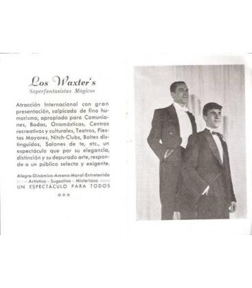 LOS WAXTER`S SUPERFANTASTISTAS MAGICOS/MAGICANTIC