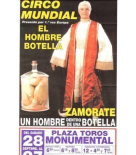 CARTEL CIRCO MUNDIAL/EL HOMBRE BOTELLA/MAGICANTIC