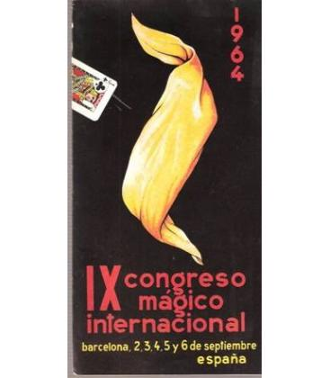 PROGRAMA IX CONGRESO MAGICO INTERNACIONAL BARCELONA/MAGIC/K 40
