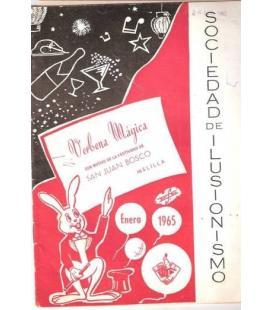 PROGRAMA VERBENA MAGICA MELILLA 1965/MAGICANTIC/K-47