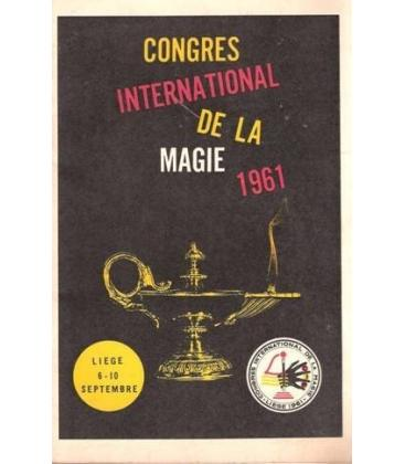 PROGRAMA CONGRESS INTERNATIONAL DE LA MAGIE 1961/MAGICANTIC/K 35