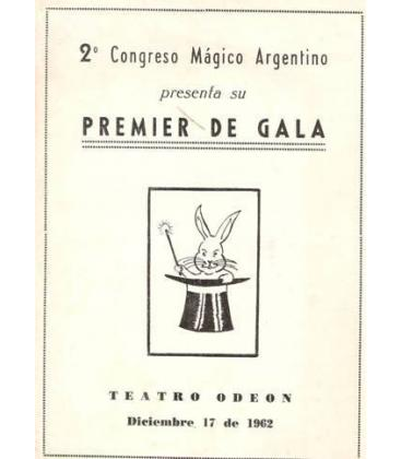 PROGRAMA 2º CONGRESO MAGICO ARGENTINO 1962/MAGICANTIC K-22
