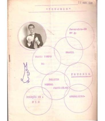 TRUCNING Nº 2 1968 BRASIL/MAGICANTIC K-54