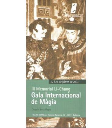 PROGRAMA GALA INTERNACIONAL III MEMORIAL LICHANG/MAGICANTIC/K65