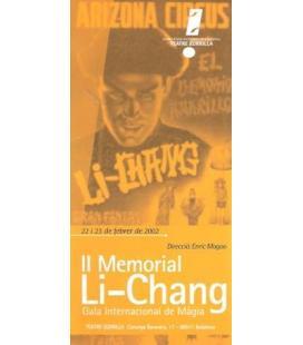PROGRAMA II MEMORIAL LI-CHANG /MAGICANTIC/K71