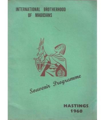 SOUVENIR PROGRAMA HASTINGS 1960