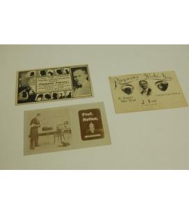 Three postcards /MAGICANTIC