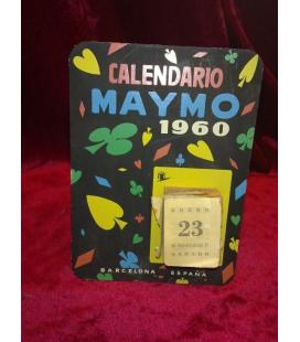 CALENDARIO MAYMO 1960/MAGICANTIC