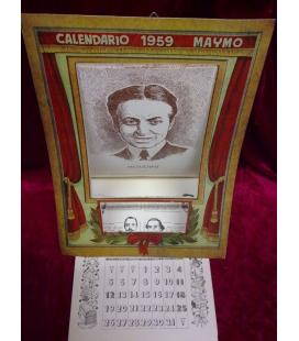 CALENDARIO MAYMO 1959/MAGICANTIC/C21