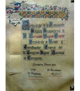 DIPLOMA ASOCIACION MAGICA ARAGONESA/MAGICANTIC