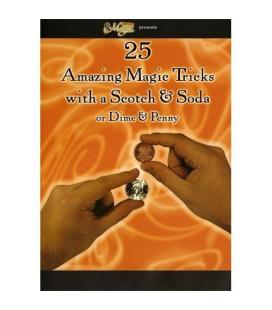 DVD* AMAZING MAGIC TRICKS/SCOTCH&SODA