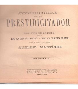 CONFIDENCIAS DE UN PRESTIDIGITADOR V 1