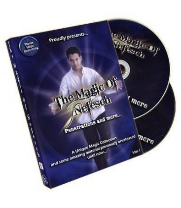 DVD The Magic Of Nefesch Vol. 1 (2 DVD Set) by Nefesch and Titanas - DVD