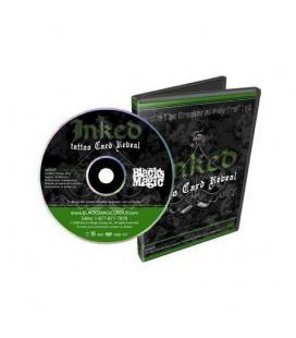 DVD INKED TATTOO CARD REBEAL BY JORDAN JOHNSON