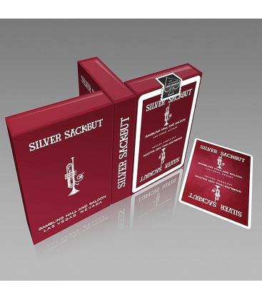 Silver Sackbut Playing Cards - Red pendiente