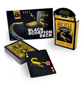 Black Scorpion Deck - Bicycle Stock